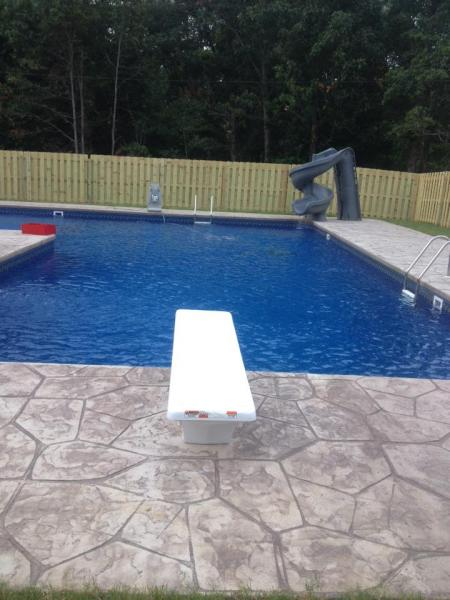 Diving Board Slides Our Pool Gallery